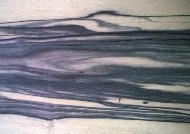 Эбен белый  шпон строганный