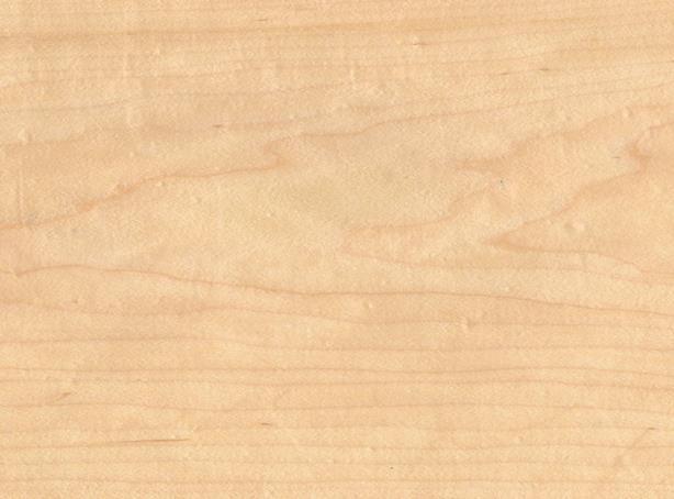 Шпонированная американским кленом плита МДФ 19, 11 мм