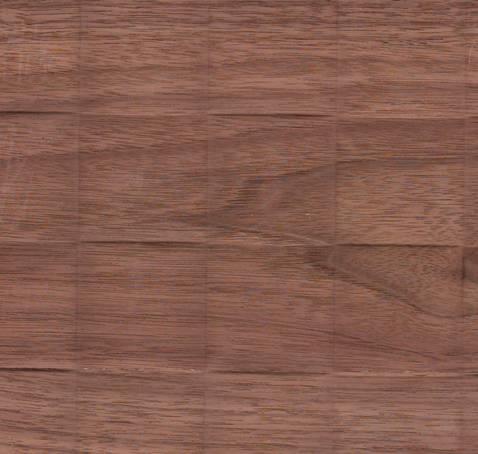 Плита рельефная квадраты крупные со шпоном ореха