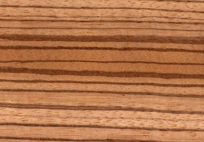 Шпонированная зебраном плита МДФ 19, 11 мм